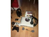 Xbox 360 w/Games, Reduced for quick sale