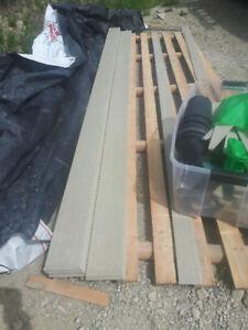 hardy plank siding - 120 square feet
