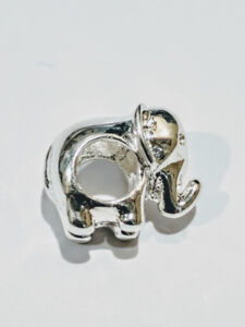 Pandora Charm style 925 stamped Sterling Silver Elephant
