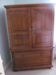 Armoire and Matching  Bed
