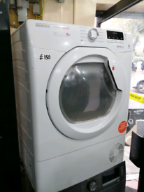 ➡️➡️OFFER⬅️⬅️ WHITE 8KG HOOVER A++ RATED HEAT PUMP TUMBLE DRYER