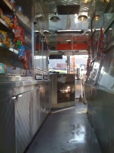 Walk-in Coffee Truck and route for Sale