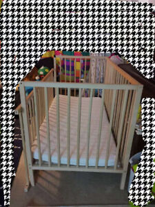 Crib (SNIGLAR) and mattress from IKEA after 2 years use