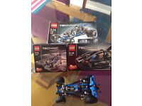 Lego technic bundle, 3 sets all 100% complete with instructions and boxes