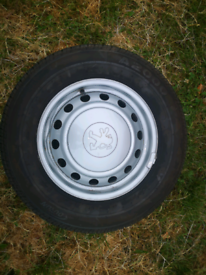 Peugeot Expert Wheels and Tyres
