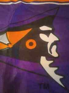 "Shreveport Pirates Flag 18""x11"" Canadian Football League CFL '95 London Ontario image 2"