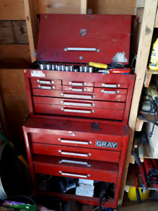 Gray Upright Tool Box for Sale