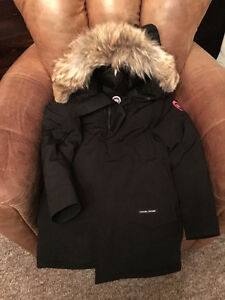 Canada Goose-XS Black Men's Langford Parka Fusion Fit-Like New