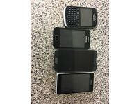samung galaxy s4 samsung galaxy ace blackberry and sony experia