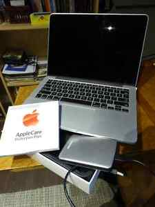 "MacBook Pro 13"" Retina - Early 2015 with Apple Care and extras."