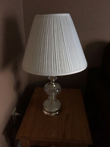 $20 obo- 2 Lamps with shades, Please see pictures
