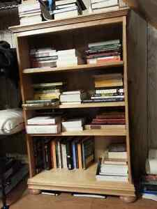 Canadian-made Solid Birch Bookshelf. $180 OBO.