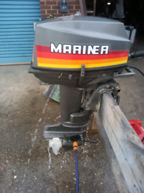Mariner Yamaha 25hp outboard boat engine