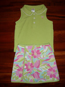Girl's Gymboree Reversible Skirt & Shirt - size 4