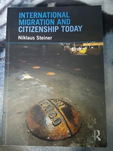 International Migration and Citizenship Today **MINT CONDITION**