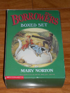The Borrowers Boxed Set (4 books ) Scholastic