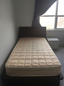 Better than IKEA! Single mattress + bed frame with drawers
