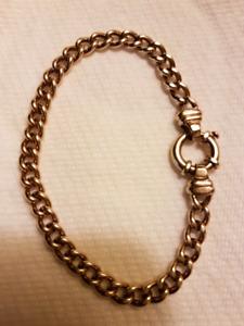 Unique 10k gold bracelet
