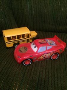Lightning McQueen and School bus