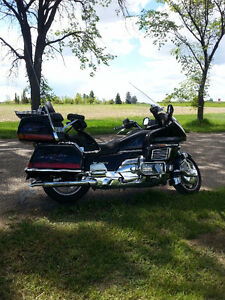 well maintained 1997 honda goldwing SE