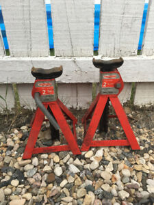 Trailer Axle Stands