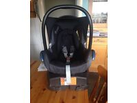 Maxi cos car seat black reflection & easy base 2