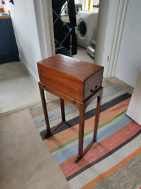 Antique/retro side table
