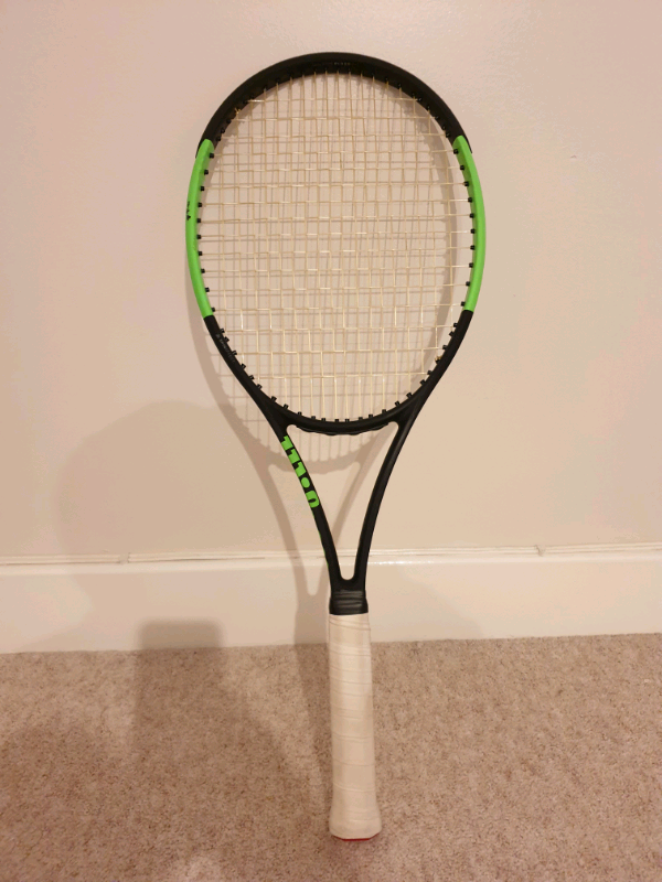 Wilson blade 98S countervail black/lime tennis racket | in Banbury,  Oxfordshire | Gumtree