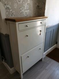 Shoe cabinet, storage, hallway, ikea