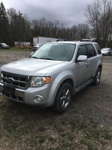 2008 Ford Escape Xlt SUV, Crossover sold as traded
