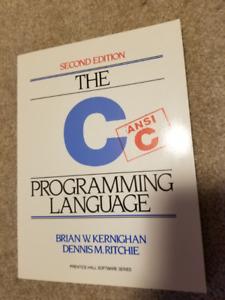 THE C PROGRAMMING LANGUAGE SECOND EDITION