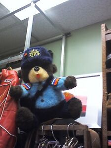 Canada Post Teddy Bear in HEARTBEAT Thrift Store/BayView Mall