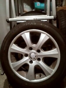 "BMW 16"" Mags with 4 summer tires"