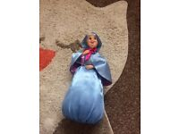 Disney store Fairy Godmother Doll