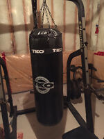 100lb TKO Punching Bag with Hanging Chains