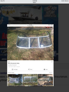 Looking to buy a boat windshield