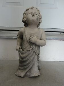 TIC COLLECTION CHERUB TALKING TO GOD GARDEN STATUE London Ontario image 2