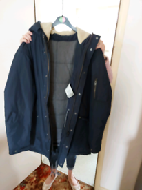 Brand new navy mens coat size xxl,brand new without tags rrp £110