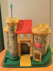 Château vintage Fisher Price