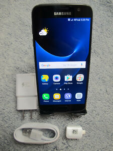 UNUSED UNLOCKED SAMSUNG GALAXY S7 - 32GB - Black