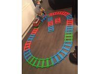 Thomas train ride on & track set
