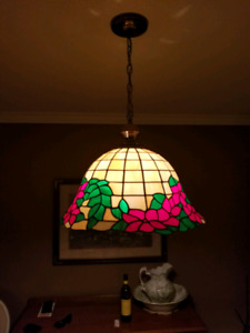 "Stain glass lamp ""Tiffany"""