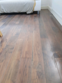 Laminate floor 12m2 approx FREE
