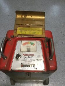 Marquette model 318 Hi-Rate Battery Charger *VINTAGE* London Ontario image 2