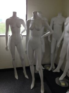 Female Headless Mannequin, mannequins, sale on mannequins, store display, displays, fixtures, rolling racks