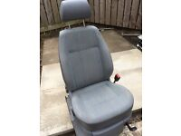 Vw caddy drivers seat