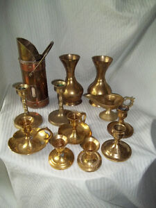 3 - Solid Brass Items