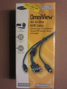Belkin Keyboard, Video and Mouse Cable (KVM cable)