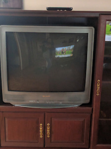 Samsung 32 inch TV with entertainment centre