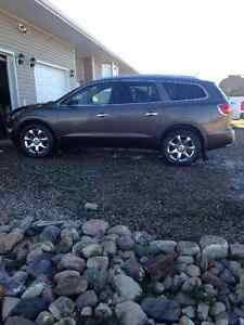 2009 Buick Enclave Brown SUV, Crossover
